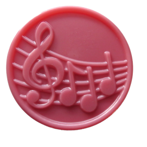 Music Notes Soap