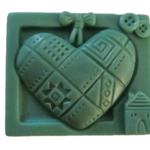 Love Quilt Soap