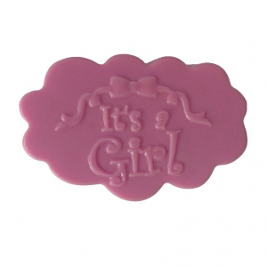 Newborn Baby It's a Girl Soap