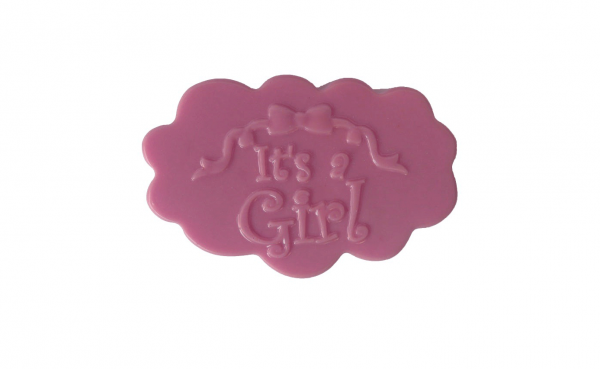 Newborn Baby It's a Girl Soap
