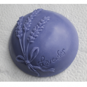 Round Lavender Soap