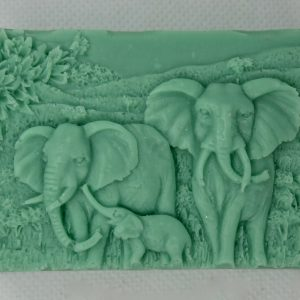 Elephant-Family-Soap